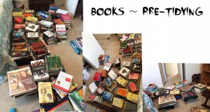 Books Pre Tidying