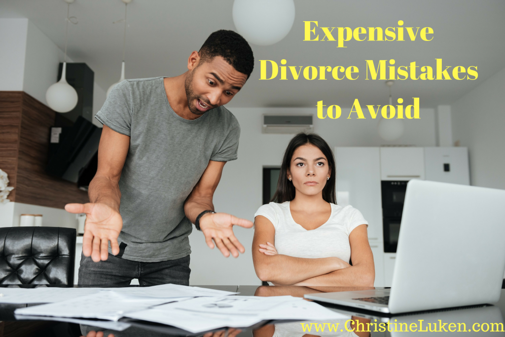 Expensive Divorce Mistakes to Avoid, Christine Luken, Financial Lifeguard